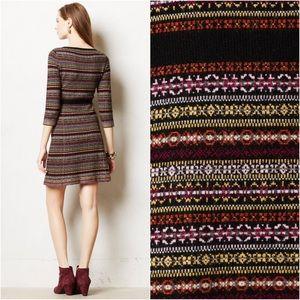 448436c775b Anthropologie Dresses - Anthropologie Clara Sweater Dress fair isle