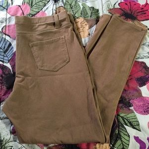 Pants - Khaki Jeggings