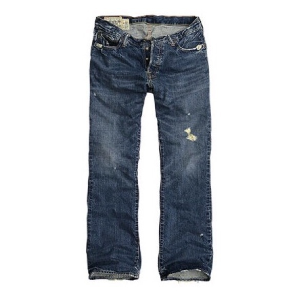 f5f19e54794 Abercrombie & Fitch Other - a&f // Baxter mens low-rise slim boot jeans