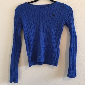 Blue Abercrombie kids sweater!