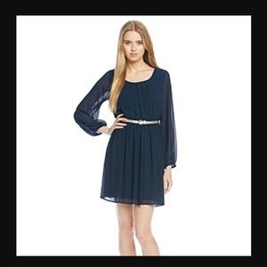 A. Byer Dresses & Skirts - PRICE DROP💞💞 Black Pleated Chiffon Dress
