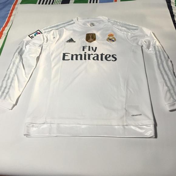 Real Madrid Adidas New Ronaldo Home Jersey 2016 f2efd2229