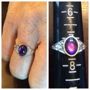 Jewelry - 💍Silvertn with Purple Stone Ring