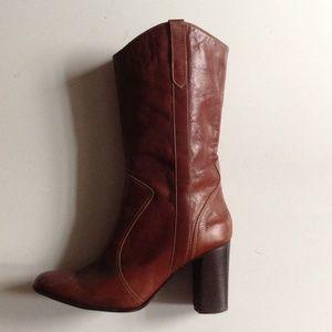 Calypso St. Barths western heeled boot. Size 37.5
