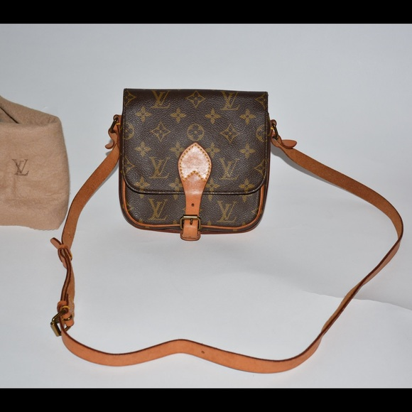 Louis Vuitton Handbags - Auth Louis Vuitton Cartouchiere PM   dust bag 636ff099765a1