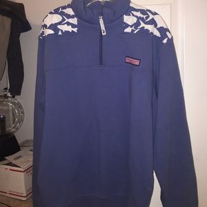 Brand New Vineyard Vines Shark Shep Shirt
