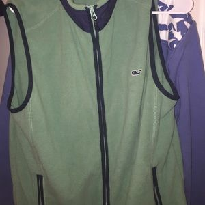 Brand New  Vineyard Vines Green Vest