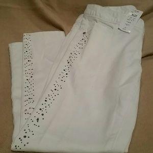 Cache Denim - Cache white jeans