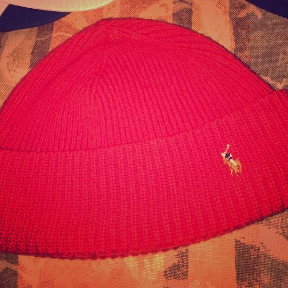 fb1b834fa Red polo Ralph Lauren skullcap