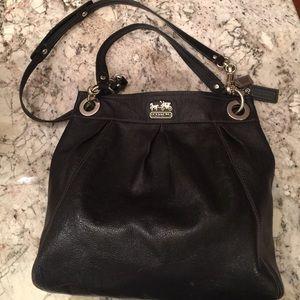 Coach leather satchel