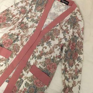 Vintage tapestry cardigan