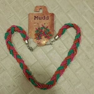 Mudd Jewelry - Mudd Necklace and Earrings