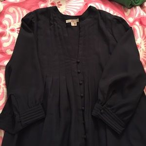 Like New Joie Long Sleeve Silk Shirt. Great buy!