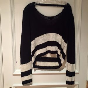 Nasty Gal (semi cropped in front) sweater!