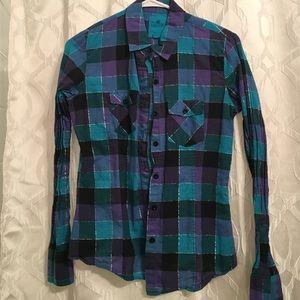 Nollie flannel top
