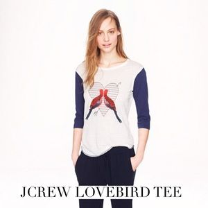 J. Crew Tops - Great oversized baseball tee