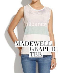 Madewell Tops - Madewell vintage print tee