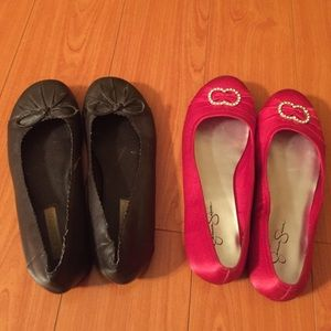 Shoes - 2 Pairs of Flats