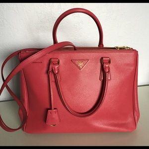 20% off Prada Handbags - PRADA Saffiano Lux Handbag Tote Shoulder ...