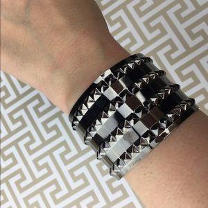 Lil+Lo Jewelry - Lil+Lo BLACK Spiked Cuff Jewelry