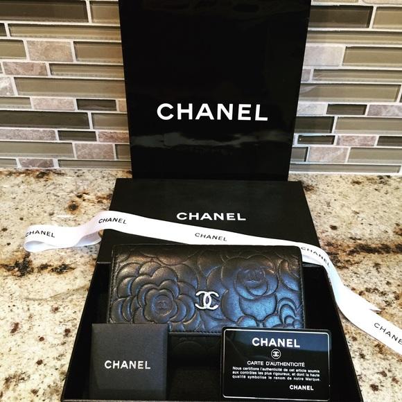 dc4013fda53079 CHANEL Handbags - Authentic Chanel Wallet with box, bag, card,ribbon