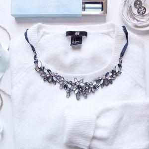H&M Off-White Angora sweater