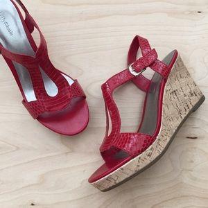 Leather Wedge Sandal ❤️HostPick❤️