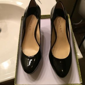 "Brand New Gianni Bini 6"" Black Heels/Pumps -size 9"