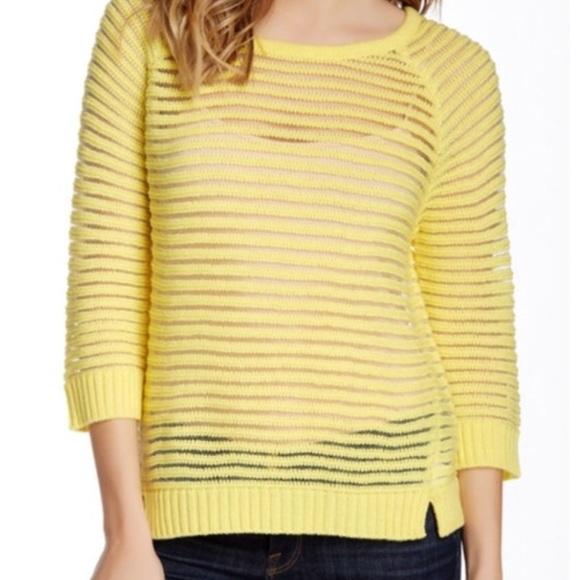 4271fb6b5 Romeo   Juliet Couture yellow sweater