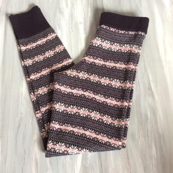33% off GAP Pants - GAP Fair Isle Wool Sweater Leggings from ...