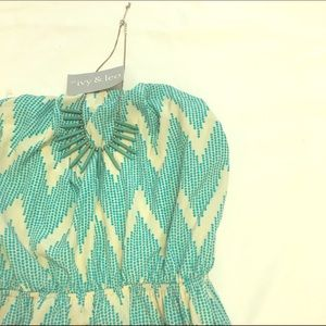 IVY & LEO chevron dress