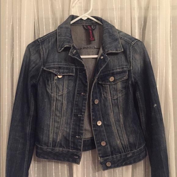 952b4dc3e91d46 Almost Famous Jackets   Blazers - Almost Famous Denim Jacket