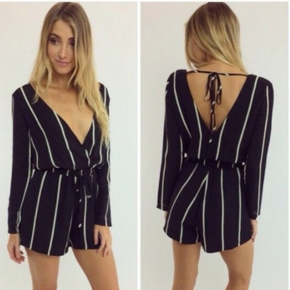 3d4f3d47f2b Peppermayo Other - ✨PEPPERMAYO striped playsuit/romper