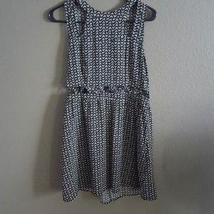Black and White H&M dress