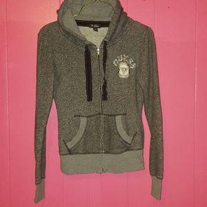 Gray guess hoodie