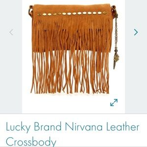 Lucky Brand Nirvana Leather Crossbody