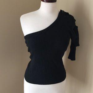 ⚡️bebe Lace - Up Sweater