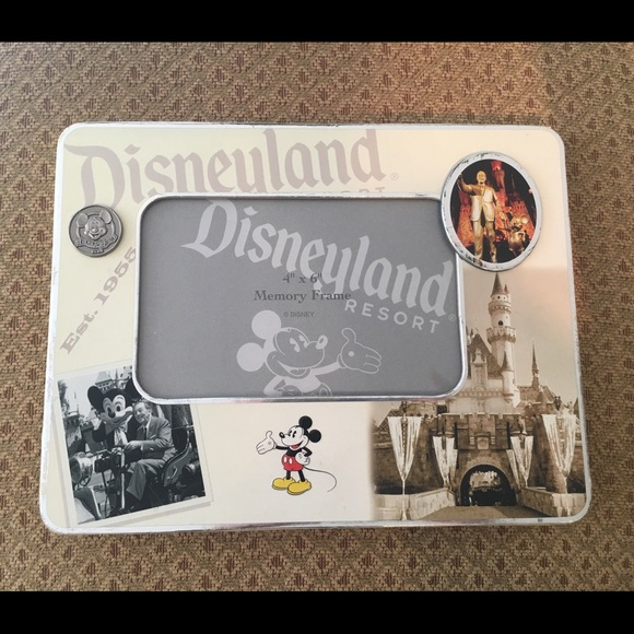 Disney Accessories | 4x6 Land Mickey Mouse Picture Frame | Poshmark