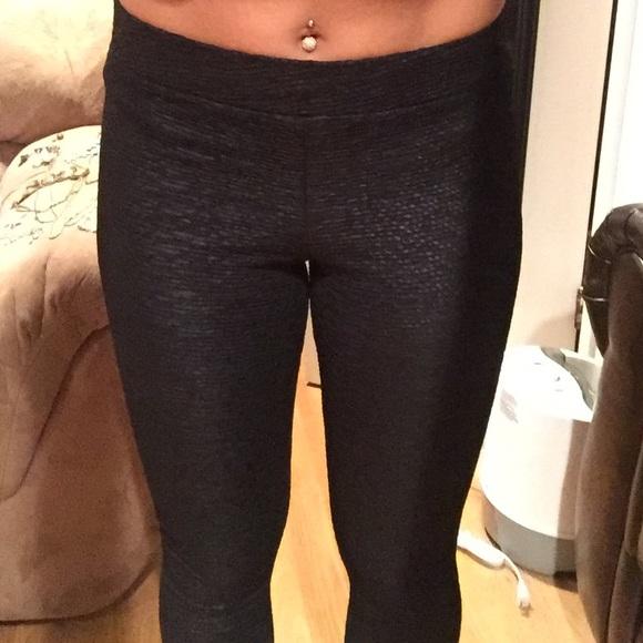 33% off H&M Pants - Snakeskin leggings (black) from Katie's closet ...