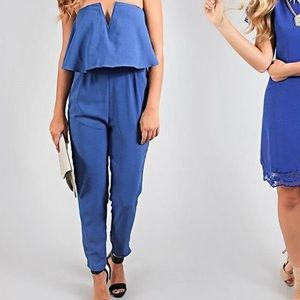 Riff raff Other - Adorable blue jumpsuit. Size small