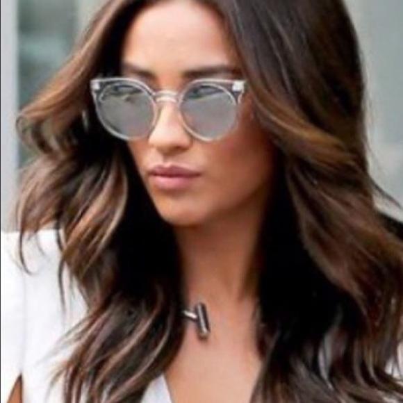c42055c7e3 ... Australia My Girl Mirror Cat Eye Sunglasses at ASOS 29% off Accessories  - Quay Kosha Sunglasses as seen on Shay Mitchell from !dani