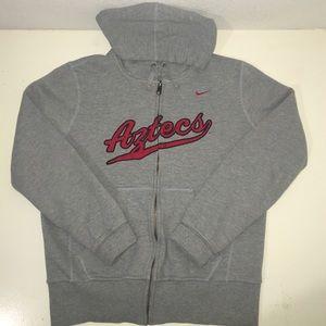 Nike Sweaters - SDSU Aztecs Full Zip Hoody