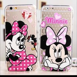 iPhone 6+, 6S + case Minnie Mouse