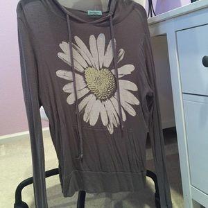 gray daisy pacsun sweater