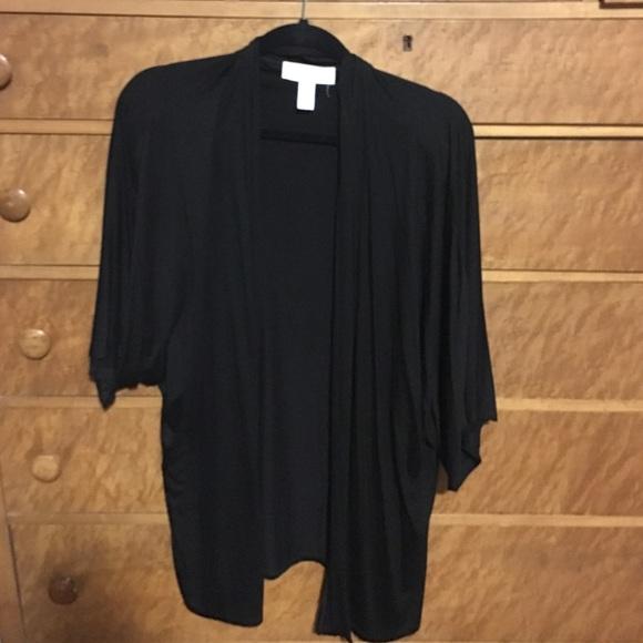 62% off Kerisma Sweaters - Kerisma black kimono cardigan from ...