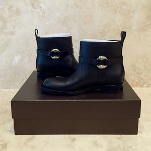 Gucci Shoes - BNWT Gucci Buckle Motorcycle Boot