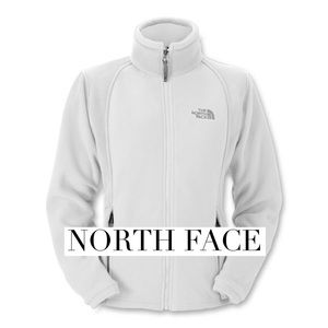 North Face Jackets & Blazers - White and gray Northface fleece