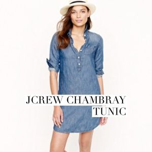 J. Crew Tops - Jcrew chambray tunic