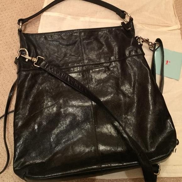 58% off HOBO Handbags - HOBO Quinn Bag in Black Leather from ...