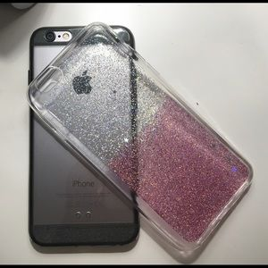 Accessories - ⚡️TRADED⚡️Glitter iPhone 6/6s case